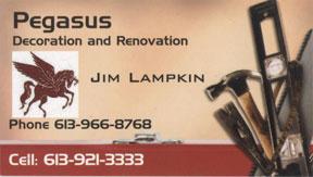 Jim Lampkin - Pegasus Decoration and Renovation
